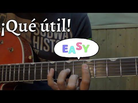 Acordes Diferentes/Misma Postura 1| Guitarra en 30'' 2º