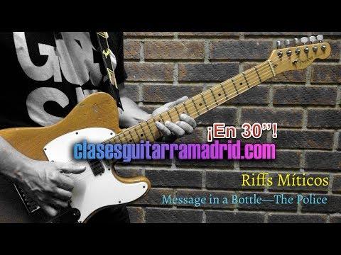 Riffs Míticos: Message in a Bottle —The Police | Guitarra en 30'' 14º