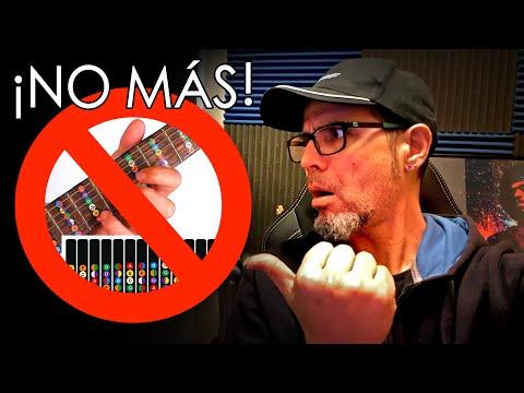 NOTAS EN EL MÁSTIL ¡NO las Aprendas MÁS! 🚫 HAZ ESTO   Rutina de Estudio de guitarra 7ª