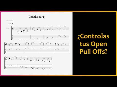 "TÉCNICAS de Guitarra: Ligados en la guitarra ""al aire"""