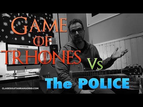 GAME of THRONES meets The POLICE   Cómo hacer un arreglo de guitarra inspirado