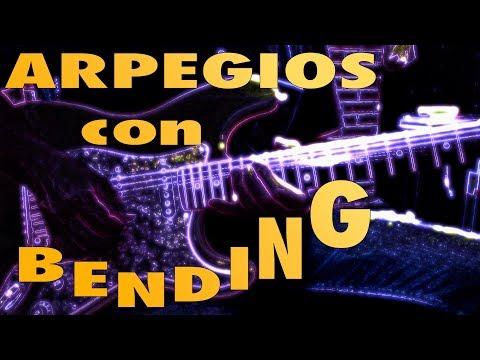 Cómo hacer ARPEGIOS con BENDINGS en la guitarra