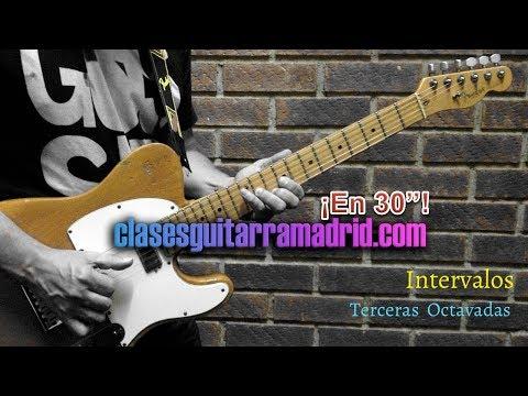 Intervalos: Terceras Octavadas | Guitarra en 30'' 13º