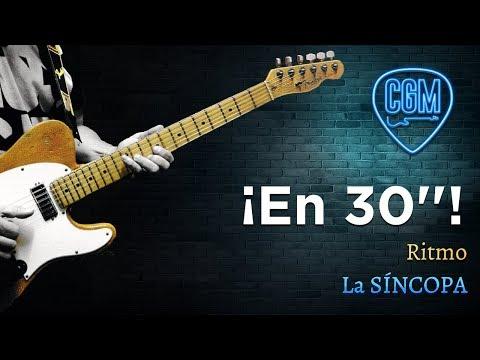 RITMO: La SÍNCOPA | Guitarra en 30'' 26º