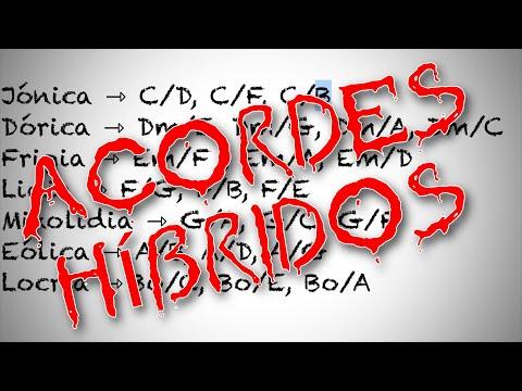 Acordes HÍBRIDOS Teoría y SONORIDADES | RUTINA de ESTUDIO Guitarra 3ª