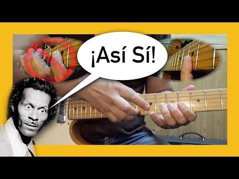 Bending Tipo 1: «Chuck Berry» | Guitarra en 30'' 3º