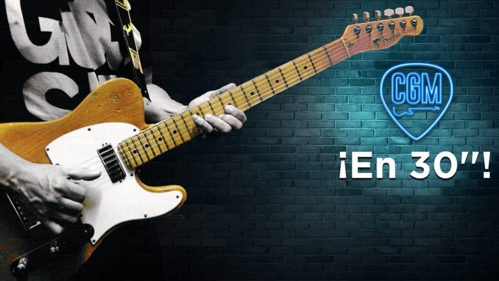 Aprende guitarra en 30 segundos