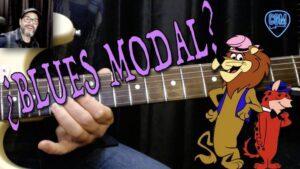 blues modal